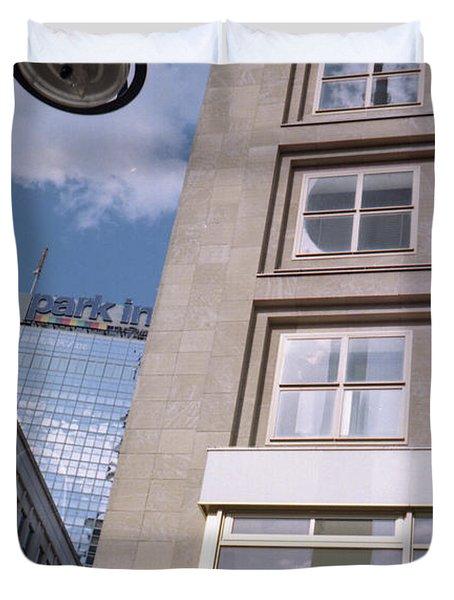 Downtown Berlin Duvet Cover