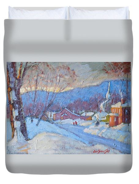 Downtown Cheshire 2016 Duvet Cover