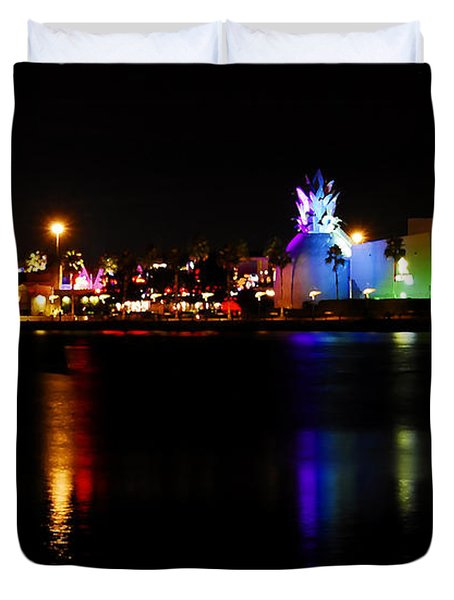 Downtown Disney  Duvet Cover by David Lee Thompson