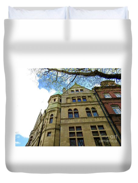 Downtown Dublin 3 Duvet Cover