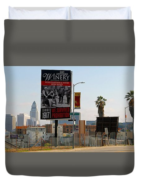 @downtown Los Angeles Duvet Cover