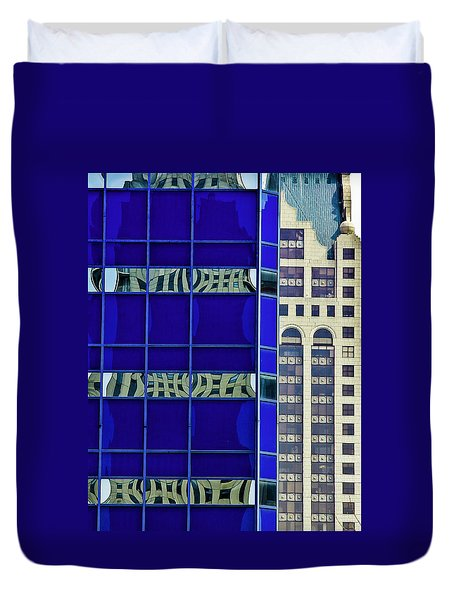 Downtown Mke Duvet Cover