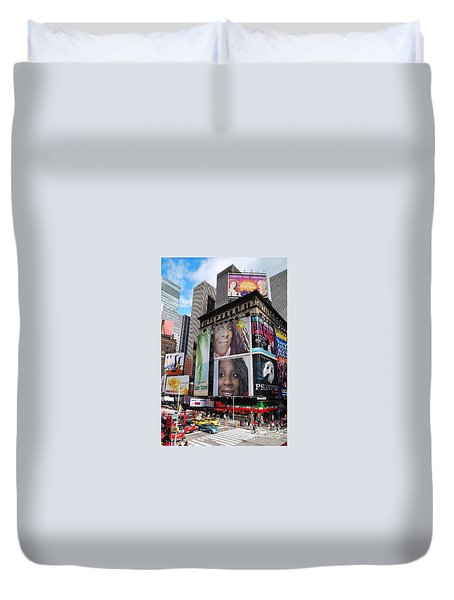 Downtown New York Duvet Cover