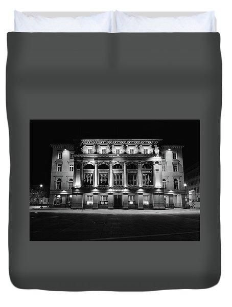 Downtown Square Duvet Cover by Matt MacMillan
