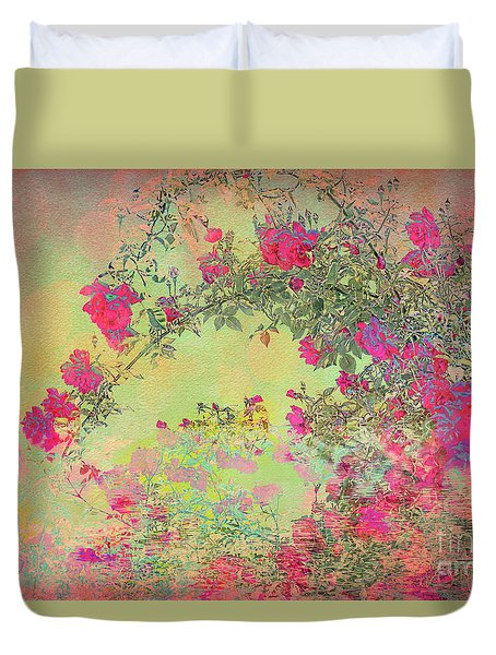 Dr. Huey Reflections Duvet Cover
