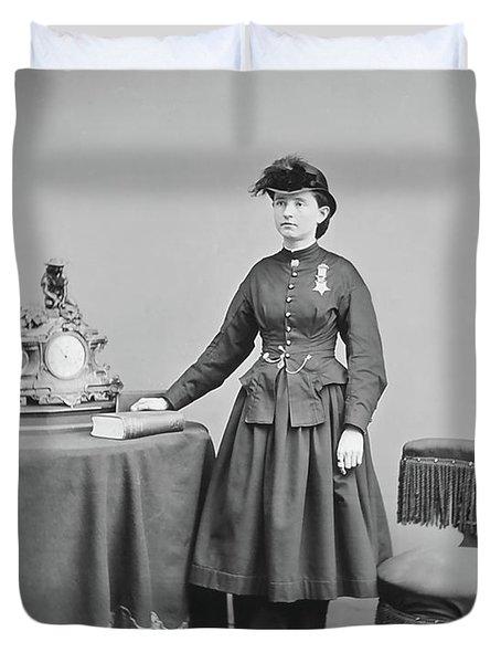 Dr. Mary Walker Duvet Cover