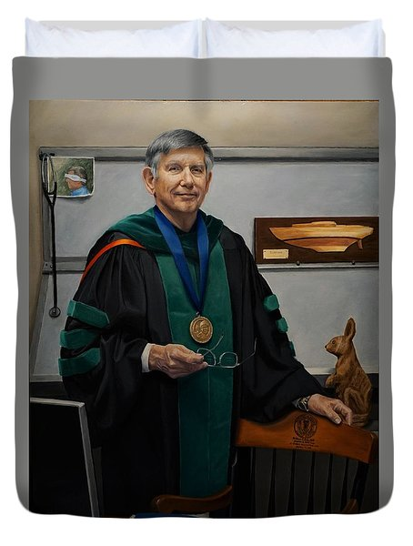 Dr William Culp Duvet Cover