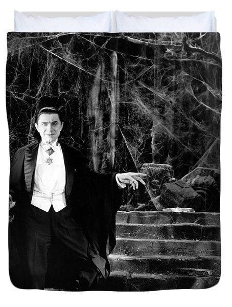 Dracula Duvet Cover