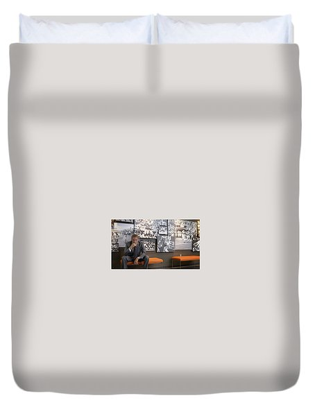 Draft Day Duvet Cover