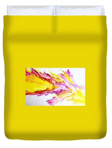 Dragon Breath Duvet Cover