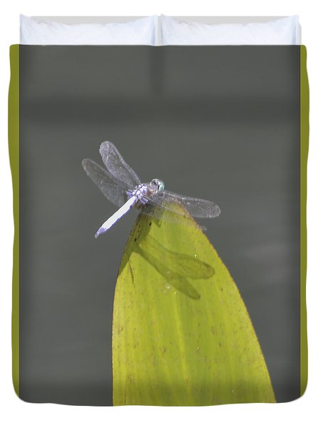 Dragon Fly Duvet Cover by Linda Geiger