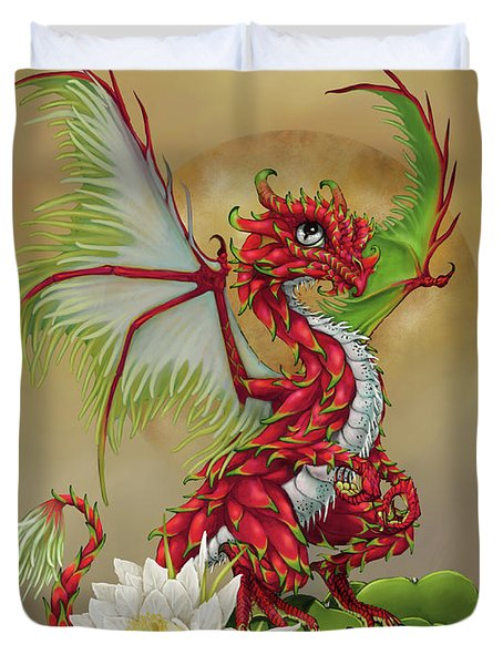Dragon Fruit Dragon Duvet Cover