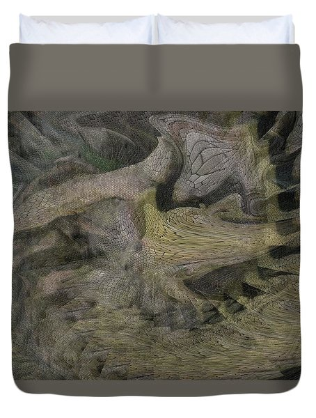 Dragon Fury Duvet Cover
