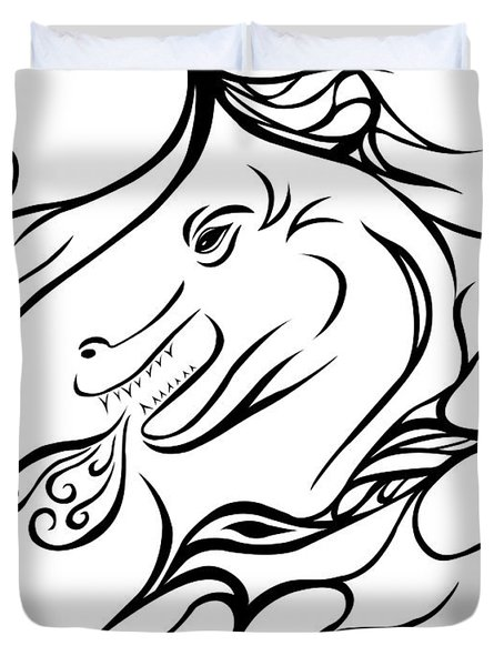 Dragon Duvet Cover by Jamie Lynn