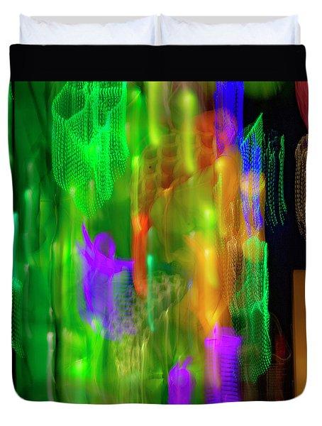 Dragon Lights 5 Duvet Cover