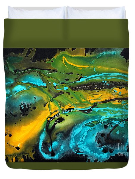 Dragon Queen Duvet Cover