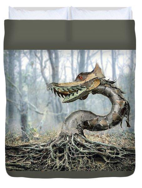 Dragon Root Duvet Cover