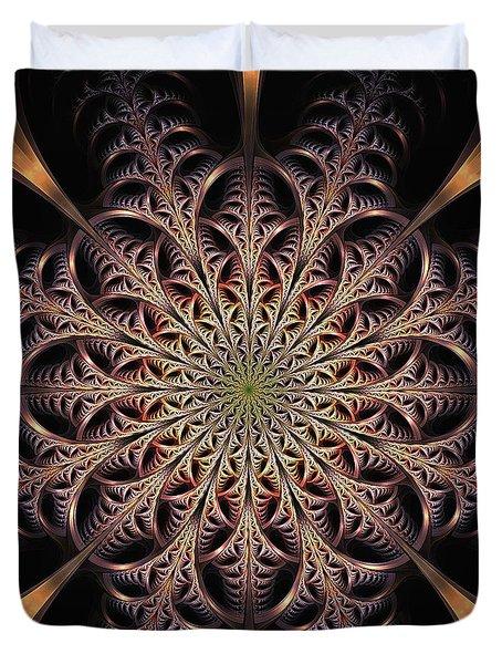 Dragon Seal Duvet Cover by Anastasiya Malakhova