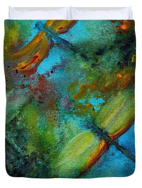Dragonflies Duvet Cover