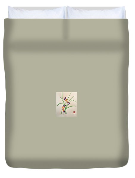 Dragonflies Duvet Cover