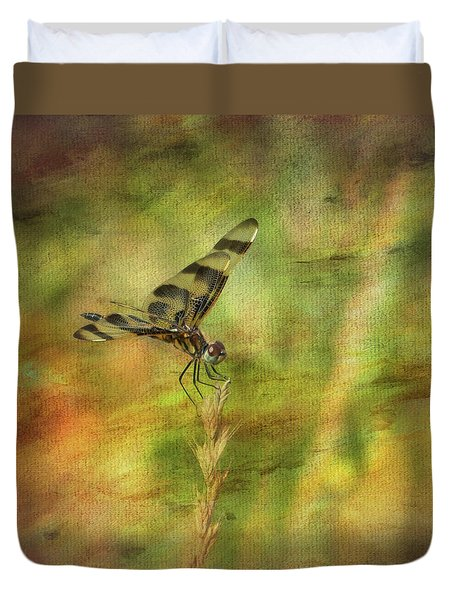 Dragonfly Art Duvet Cover