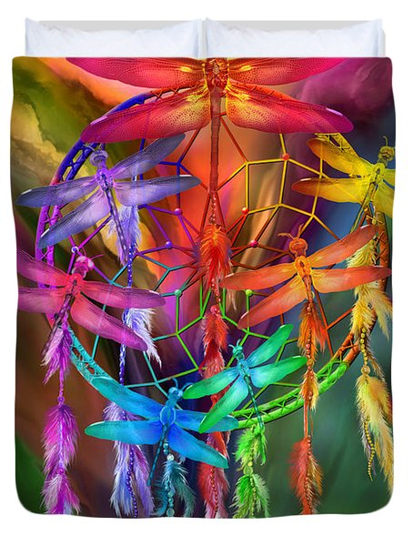 Dragonfly Dreams Duvet Cover