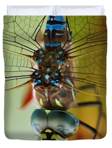 Dragonfly In Thought Duvet Cover