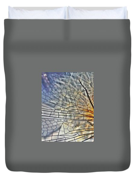 Dragonfly Wing Duvet Cover
