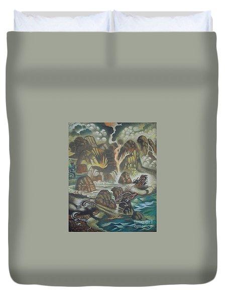 Dragon's Breath Duvet Cover
