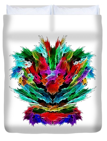 Dragon's Breath Duvet Cover by Methune Hively