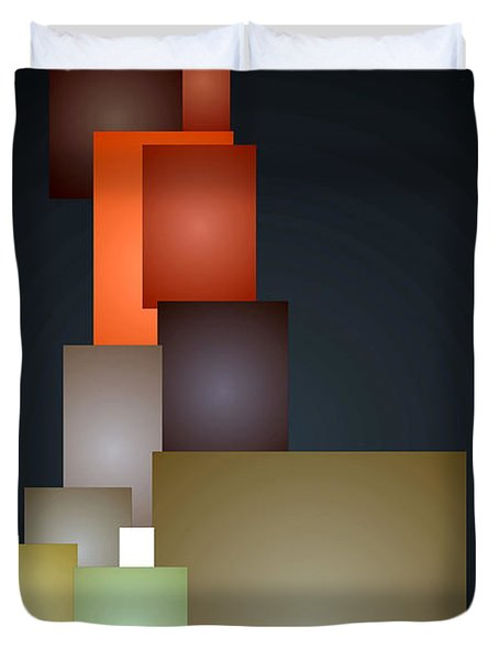 Dramatic Abstract Duvet Cover