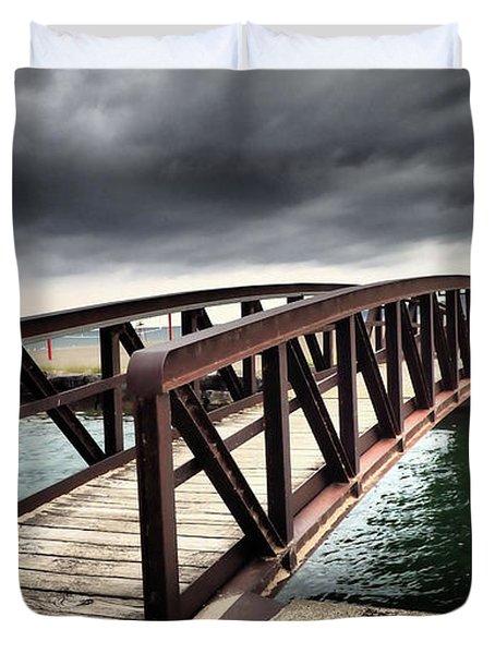 Dramatic Bridge Duvet Cover