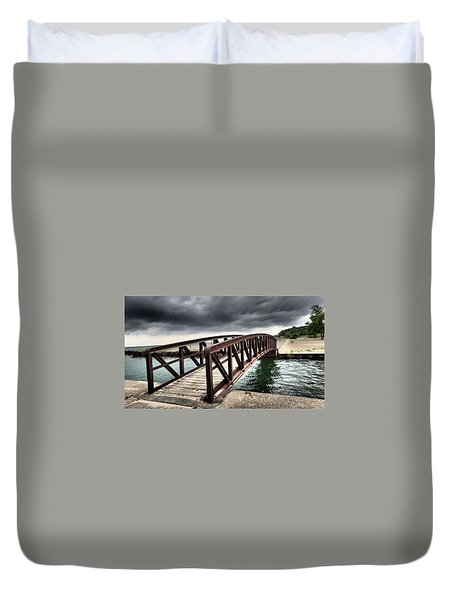 Dramatic Bridge Duvet Cover