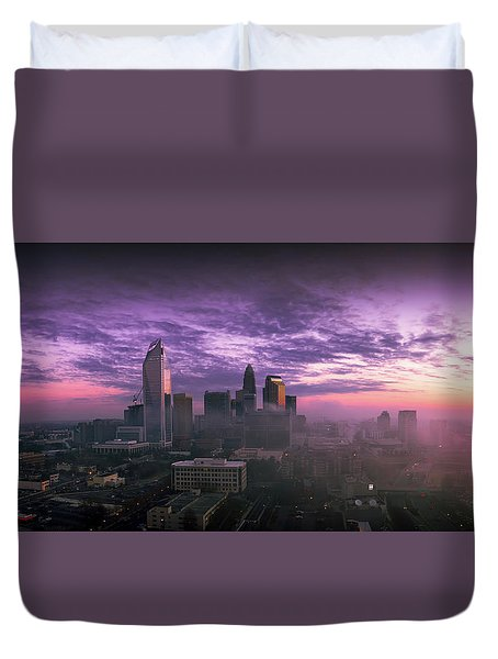 Dramatic Charlotte Sunrise Duvet Cover
