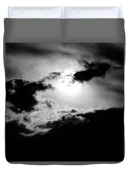 Dramatic Clouds Duvet Cover
