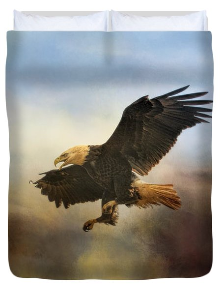 Dramatic Entrance Duvet Cover