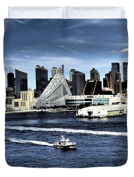 Dramatic New York City Duvet Cover