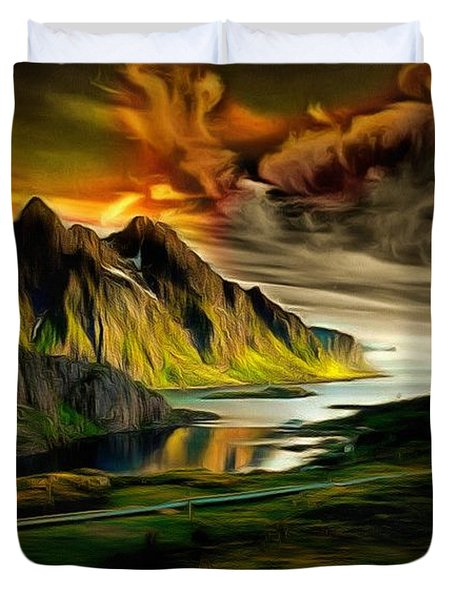 Dramatic Skies Duvet Cover