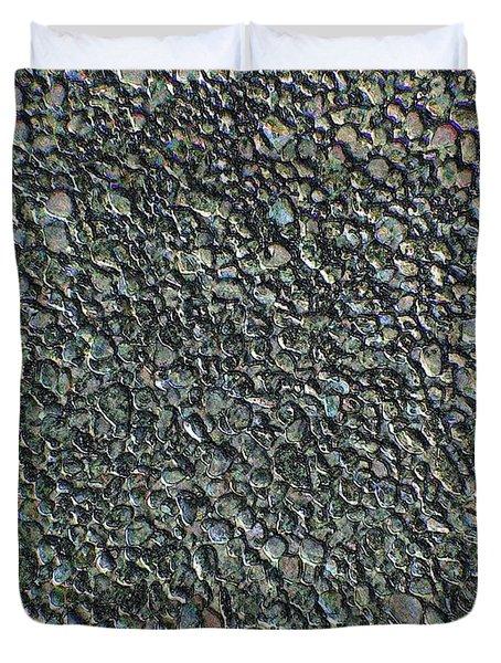 Drawn Pebbles Duvet Cover