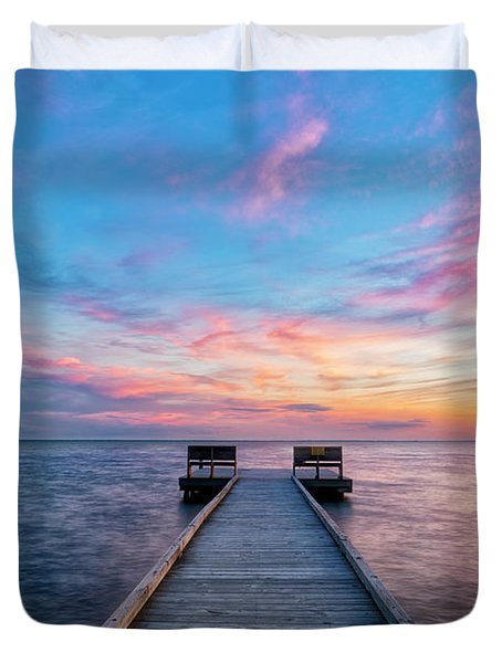 Drawn To Beauty Duvet Cover