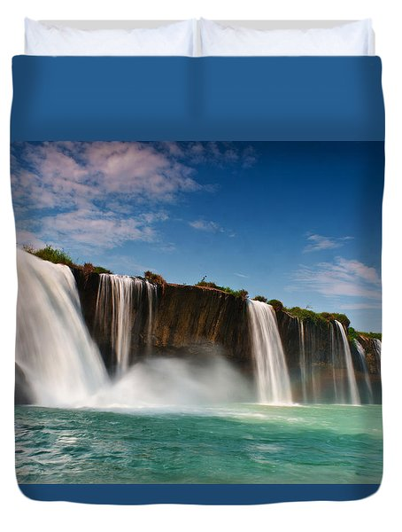 Draynur Waterfall Duvet Cover