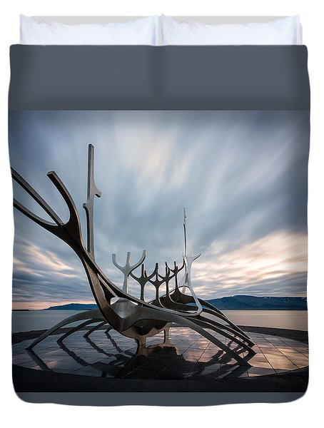 Dream Boat Duvet Cover