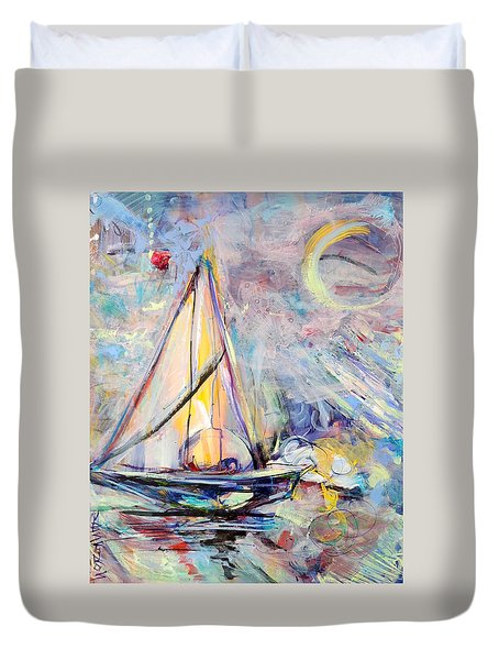 Dream Boat Duvet Cover