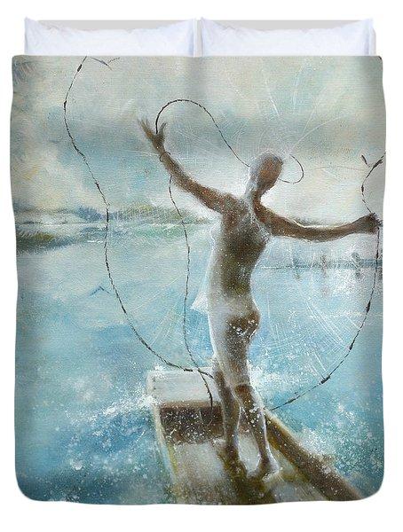 Dream Catcher Duvet Cover by Gertrude Palmer