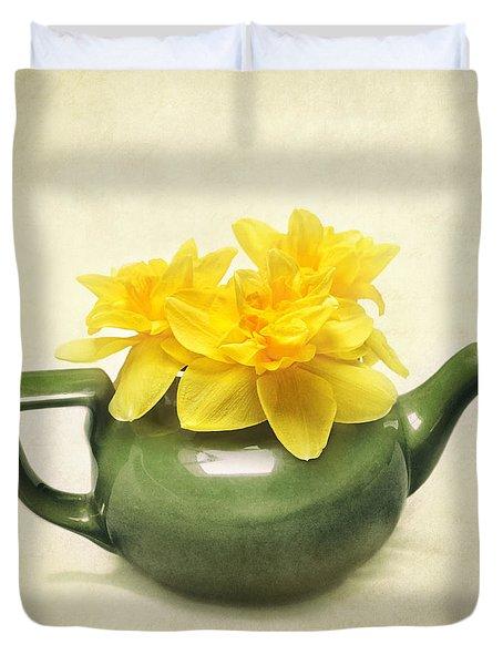 Dream Daffodils Duvet Cover