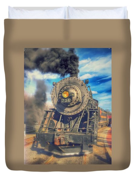 Dream Engine Duvet Cover
