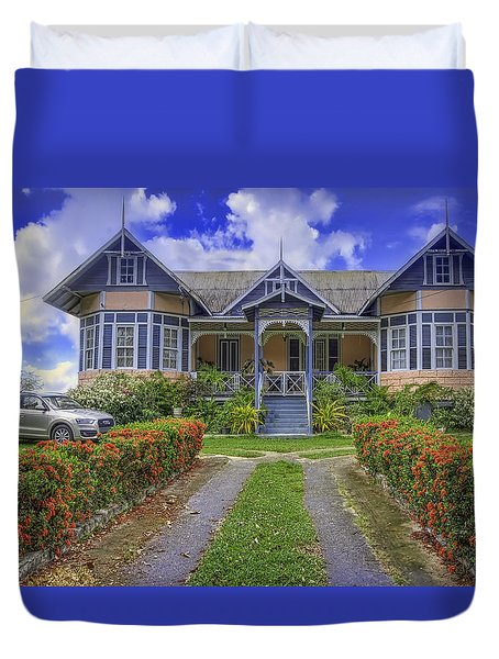 Dream House Duvet Cover