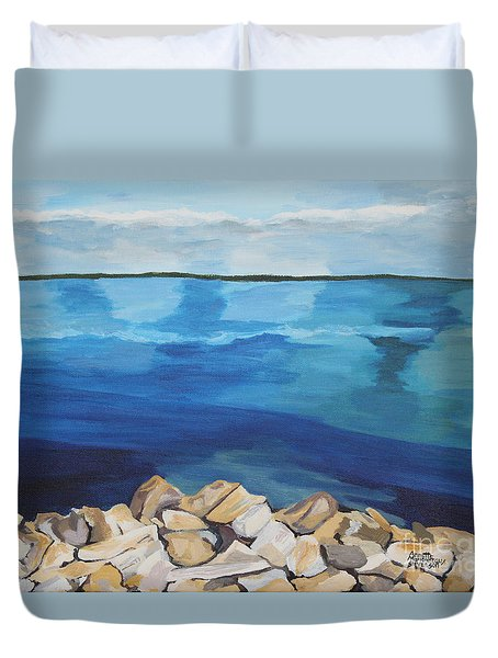 Dream Lake Duvet Cover