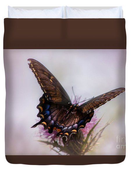 Duvet Cover featuring the photograph Dream Of A Butterfly by Rima Biswas
