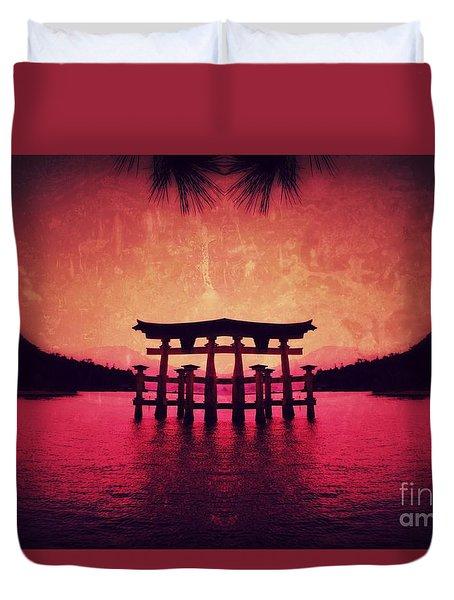 Dream Of Japan Duvet Cover